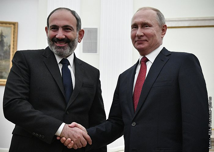 Pashinyan, Putin, Press Unity